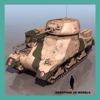 M3 GRANT / LEE US BRITISH DESSERT RAT TANK WWII