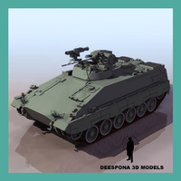 marder modern german infantry 3d model
