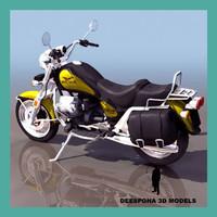 moto guzzi 1100 california 3d max