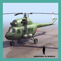 MI 2  RUSSIAN POLAND SOVIET HELICOPTER