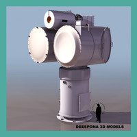 mk78 sea sparrow control 3d model