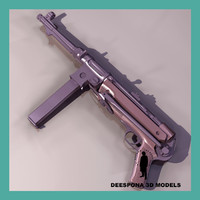 mp38 mp40 mp 36 3d model