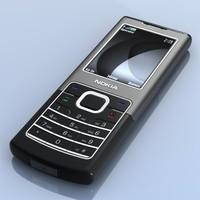 3d max nokia 6500 classic phone