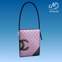 bag virtual 3d model