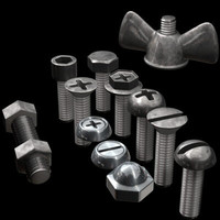 3d screw colection
