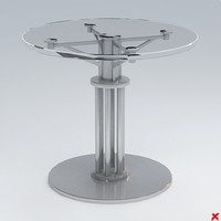maya table glass