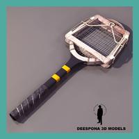 3d max tennis racket classic