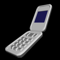 3ds max phone cellphone