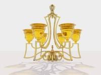 3d lamp chandelier model