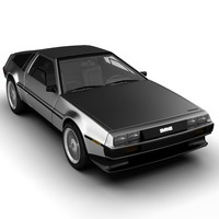 maya delorean car