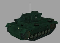 3ds max panzer tiii