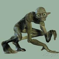 3d model troll character