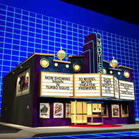 3ds max movies theater 01 art deco