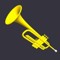 3ds max trumpet