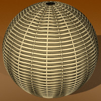 wicker sphere strange lwo