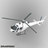 Eurocopter AS350 Generic white