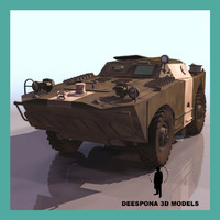 BRDM 1 SOVIET RUSSIAN AMPHIBIOUS VEHICLE