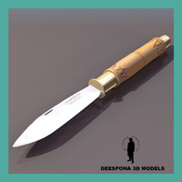 3ds max chaperon nontron knife