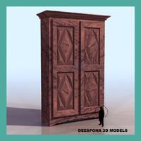 maya wooden vintage cutboard storage