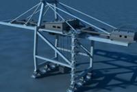Shipping Crane & Cargo Ship