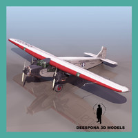 3d model of fa5 american airlines 1935
