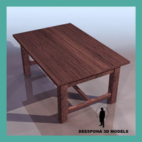 folk table desk max