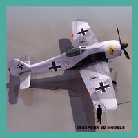 Focke-Wulf Fw 190 Würger shrike GERMAN FIGHTER WWII
