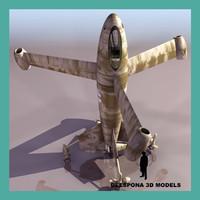 3d focke wulf triebflÜgel fw model