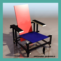 max chair design garrit rietveld