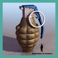 hand grenade mk 2 max