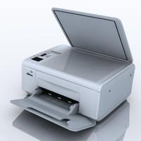 3dsmax hewlettepackard photosmart c4283 printer