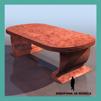 3dsmax hille table