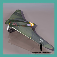 HORTEN HO229 A 1 GERMAN FIGHTER WWII