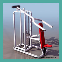 GYMNASIUM DORSAL SHOULDER PRESS APPARATUS