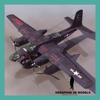 A-26 B-26 invader USAF bomber WWII