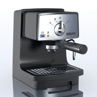 krups xp4020 espressomachine 3d model