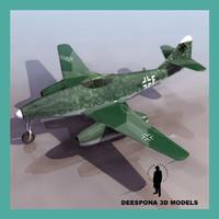 MESSERSCHMITT Me 262 GERMAN JET FIGHTER WWII