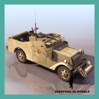 M3 Scout Car US WWII (WITH RED ARMY COLOUR SCHEME)