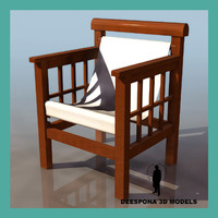 chair design robert mallet 3d max