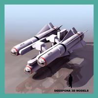 3d maverick missile