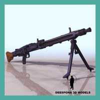 max mg42 german machine gun