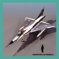 3d model mirage iii french israel