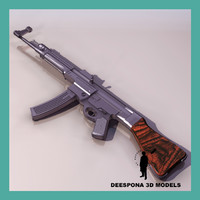mp44 stg44 sturmgewehr german 3d model
