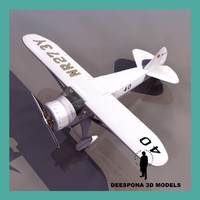 3d howard dga-6 mister mr model