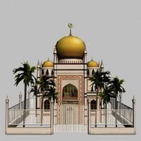 3d mosque