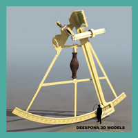 3d model navigation sextant