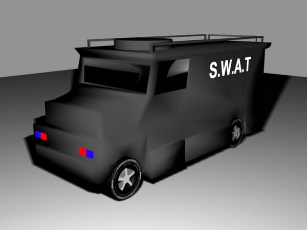 3d swat truck model - SWAT Van... by Harry Atkins