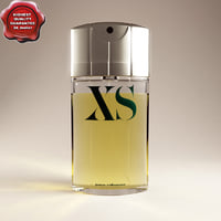 Bottle of perfume XS