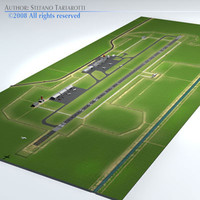 3ds max medium airport