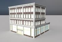 old department store 3d c4d